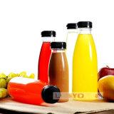 Recipiente de bebida do animal de estimação/frasco de vidro plástico de água de /Drinking do frasco do suco de fruta