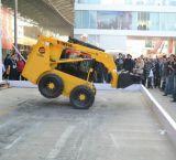 De professionele VoorLader Bobcat van de Lader van de Jonge os van de Steunbalk van de Kipwagen van de Lader van het Wiel van het Ontwerp MiniWs50 met Dieselmotor