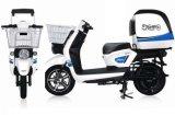 普及したグリーン電力の電気スクーターのオートバイ