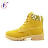 Работа 2016 новая женщин впрыски типа Boots ботинки для работы с быстро отпуском (SVWK-1609-027 TAN)