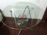 10mmのラウンド・コーナが付いている緩和されたテーブルの上ガラス、磨かれた端