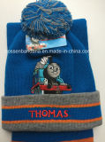 顧客用100%のアクリルの冬季スポーツの帽子の帽子