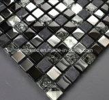 De ijzel Gebarsten Tegel van het Mozaïek van het Marmer en van het Glas (15*15)