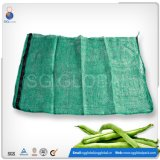 Green PP Mesh Bags para embalagem de frutas