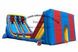 最も大きい屋外の大人のZorbの球をするための巨大で膨脹可能なジッパーラインスライド