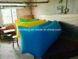 膨脹可能な空気寝袋の走行のキャンプのLaybagの膨脹可能なソファーのBanabaの寝袋