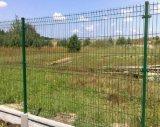 Geschweißtes Ineinander greifen-Zaun-Panel/Metallzaun-Panel