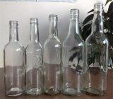 700ml leeren sich ringsum Glaswhisky-Flasche