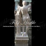 大理石像の石の彫像の花こう岩の彫像の白人のカラーラの彫像氏148