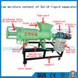 O separador líquido contínuo do estrume da galinha/porco/vaca, aves domésticas Dung o desidratador