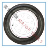 480-12 Roue de remorque sans chambre à air, roue en caoutchouc, roue à débroussailleuse à roue à roue