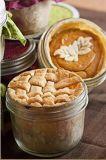 Tarros de cristal del masón de 4 onzas para el atasco, miel, alimentos para niños, conservando, especia