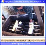 Ligne perdue semi-automatique machine de bâti de mousse de moulage de vis