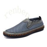 Chaussures de l'espadrille des hommes obtenants neufs de mode