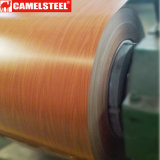 El modelo de madera imprimió la bobina de acero galvanizada