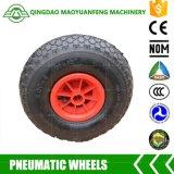 rotelle del camion di mano di 10inch Qingdao con gli orli di plastica del metallo