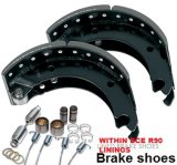 Vrachtwagen en Trailer Brake Shoe met ECE R90 Linings