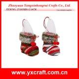Botte pelucheuse de Noël de la décoration de Noël (ZY15Y133-1-2)