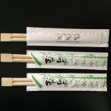 Palillos desechables de 20 cm con diseño de logotipo y manga de cliente