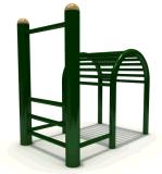 A ginástica Multifunction do campo de jogos do instrutor ostenta o equipamento da aptidão do Bodybuilding (BLO-078)