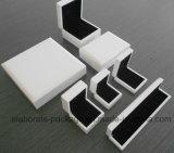 Weiße Luxuxschmucksache-gesetzter Kasten