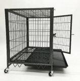 De vierkante Kooi van de Hond van de Buis Op zwaar werk berekende