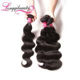 Heiße Verkaufs-zutreffende Längen-peruanisches Karosserien-Wellen-Haar