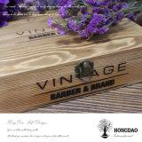 Hongdao a personnalisé le cadre en bois de couleur pour l'emballage de vin avec le blocage