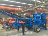 Zhengzhouの石造りの構築機械、移動式粉砕機のプラント