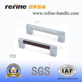 Sale chaud Hardware Furniture Handle dans Aluminum (L-733)