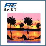 Algodão/bambu impresso/praia de Microfiber/toalha relativas à promoção dos esportes
