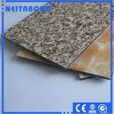 Fabricante compuesto de aluminio de China del panel del precio bajo de la alta calidad para la solución interior