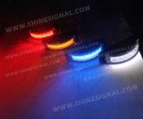 Luz exterior curvada brilhante Emergency de advertência da polícia (S28)