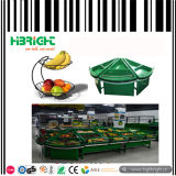 Supermercado de vegetais e frutas Display Stand Racks