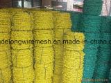 Покрынный PVC/колючая проволока стали утюга Glavanize