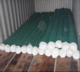 6foot PVC上塗を施してあるチェーン・リンクの網かダイヤモンドの金網