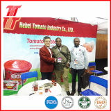 Goma de tomate de 830g conservada con la marca de fábrica de Fiorini