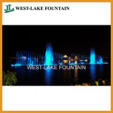 Musical eau Laser Rideau Projection Danse Fontaine en Ukraine