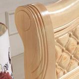 Camas matrimoniales modernas de la cama de madera sólida (M-X2234)
