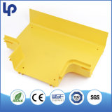 Guide jaune de fibre de conduit d'UL de RoHS de la CE
