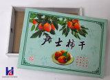 마른 과일 & 음식 선물 패킹 포장 상자를 인쇄하는 색깔