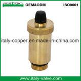 Vanne à bille forcée à air comprimé en laiton à qualité personnalisée (IC-3067)