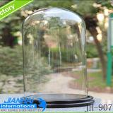 Hoher Feuerstein-Glasflaschen-Glasstaub-Deckel