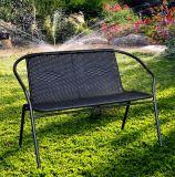 Banco esterno del vimine di svago della mobilia del giardino