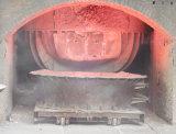 Bruine Gesmolten Alumina Ruwe olie met de Oven van de Titelopdruk