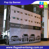 Ehrfürchtig Werbung Fabric Pop Up Display mit Aluminiumstandplatz
