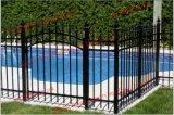 適正価格のさびない制作された防腐性の鋼鉄塀