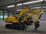 Wanne der Baoding-Gleisketten-Exkavator-9ton/0.5m3 mit Bescheinigung ISO9001