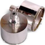 電気めっきのダイヤモンドのコア・ビットはのためのすねに陶磁器通す