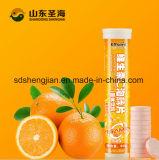 Таблетка c витамина фабрики 1000mg OEM Effervescent